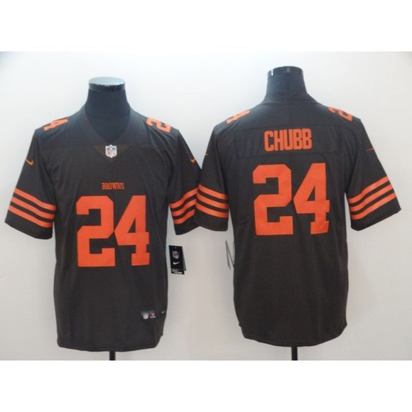 on sale 8b359 463a2 Cleveland Browns Nick Chubb Jersey